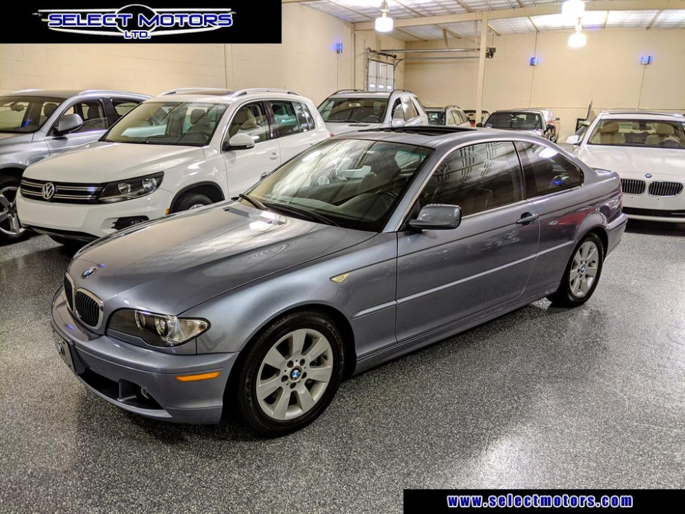 2006 Quartz Blue Metallic /Black Montana leather BMW 3-Series 325Ci coupe (WBABD33406P) with an 2.5L L6 DOHC 24V engine, Automatic transmission, located at 603 Amelia Street, Plymouth, MI, 48170, (734) 459-5520, 42.378841, -83.464546 - Photo #1