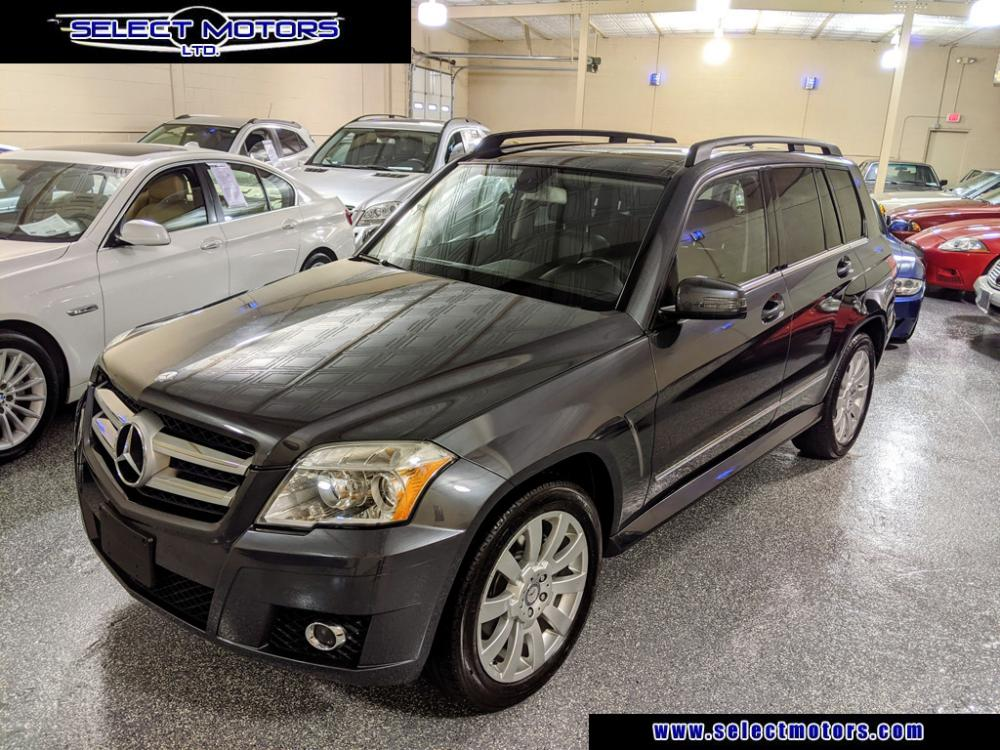 2010 Steel Grey Metallic Mercedes-Benz GLK-Class GLK350 4MATIC (WDCGG8HB8AF) , 7-Speed Automatic Overdrive transmission, located at 603 Amelia Street, Plymouth, MI, 48170, (734) 459-5520, 42.378841, -83.464546 - Photo #1